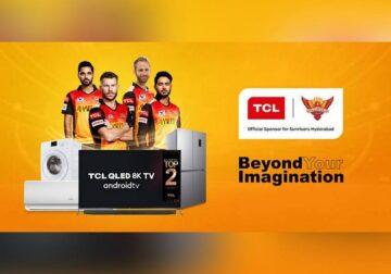 टीसीएल ने सनराइज़र्स हैदराबाद के साथ अपने सहयोग को जारी रखा