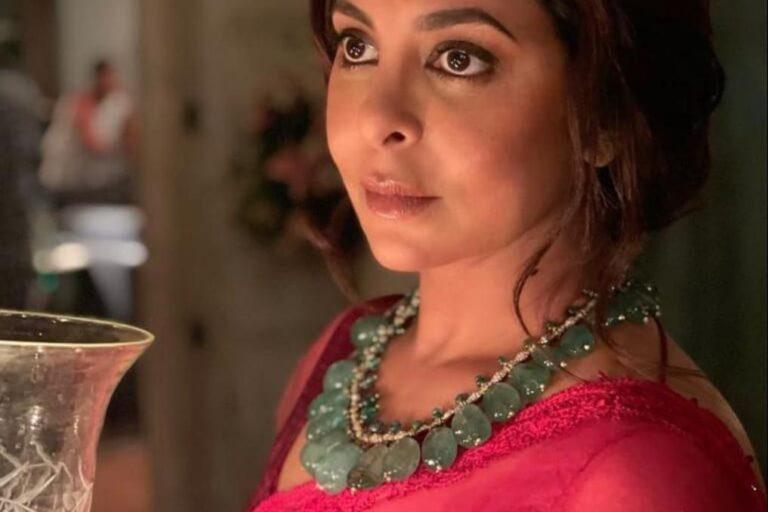 अभिनेत्री शेफाली शाह ने ह्यूमन से अपना पहला लुक किया रिलीज़