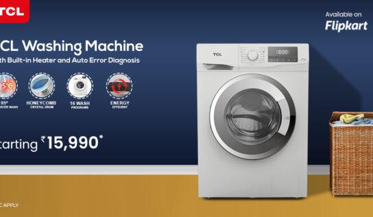 टीसीएल ने डिजिटल डिस्प्ले के साथ वॉशिंग मशीन की नई रेंज लॉन्च की